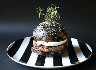 Denny Chef Blog: Burger Buns soffici al nero di seppia