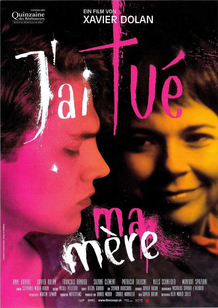 J AI TUÉ MA MÈRE - I KILLED MY MOTHER - 2009 - FILMPOSTER A4