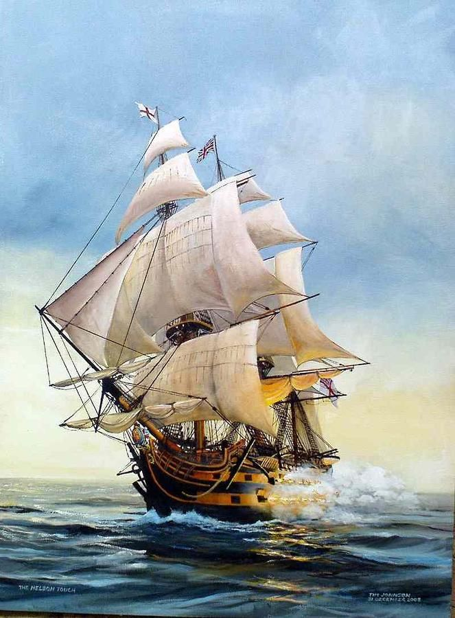"""Tim Johnson  """"The Nelson Touch""""  (HMS Victory)"""