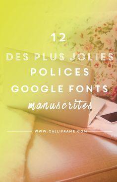 12 jolies polices d'écriture manuscrite                                                                                                                                                                                 Plus