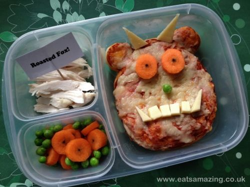 Pizza - Gruffalo Themed Lunch for #WorldBookDay