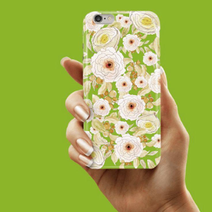 Garden Back Phone Case (UN-1712) - Green