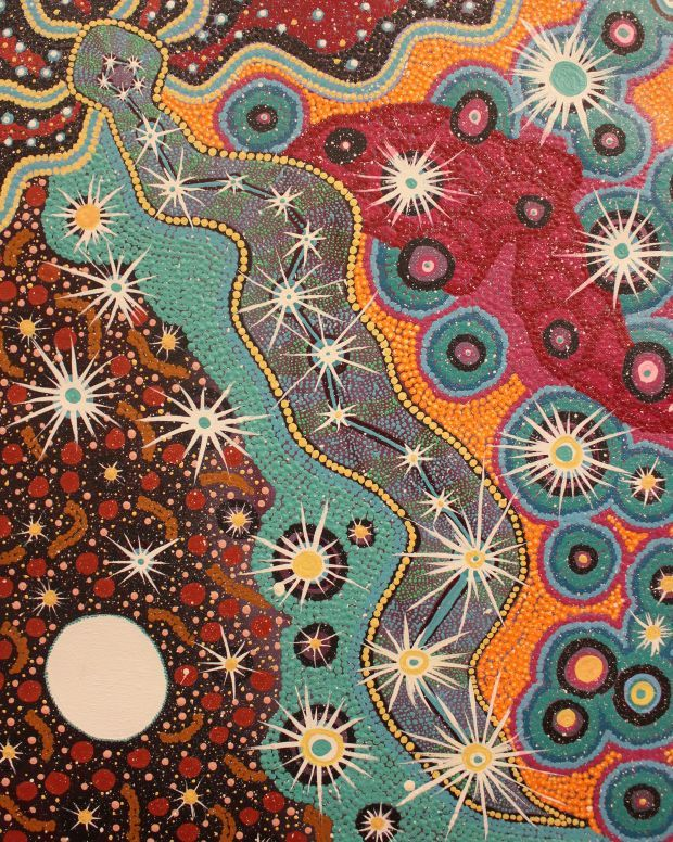 Celebrate the ancient wisdom of the San and Wajarri people through a series of artworks created by artists who descended from those cultures. The Shared Skies exhibition is currently on display at the National Gallery in Cape Town.