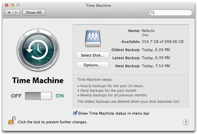 Time Machine Info--to save photos separate from backup...