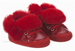 Fabulous red Dolce & Gabbana baby shoes