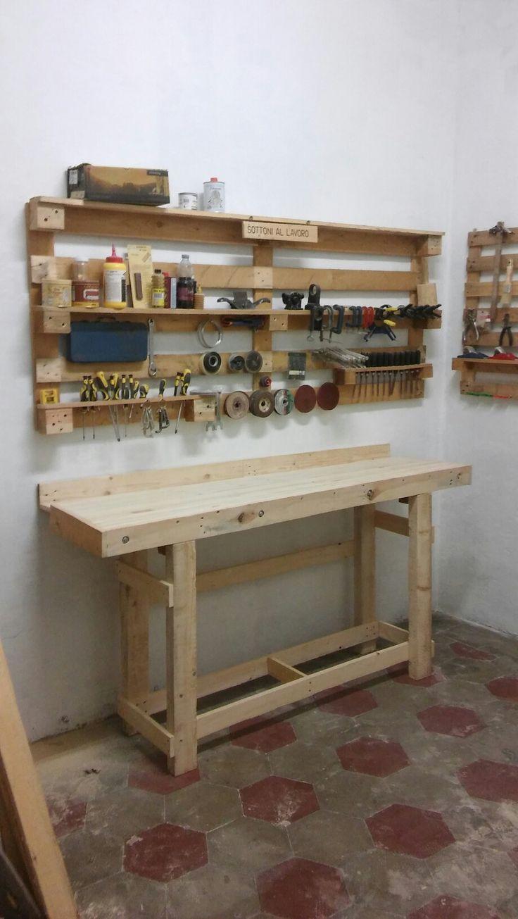 Oltre 25 idee originali per tavoli da lavoro su pinterest - Banco da lavoro cucina legno ...