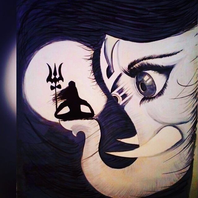Image result for lord shiva sketch hd