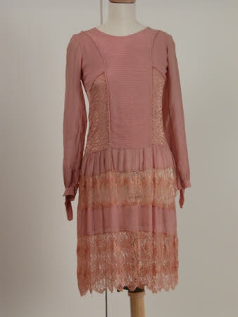 Wedding dress, 1928