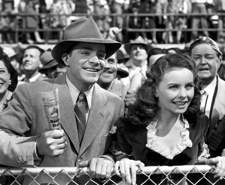 Jeanne Crain with Dana Andrews