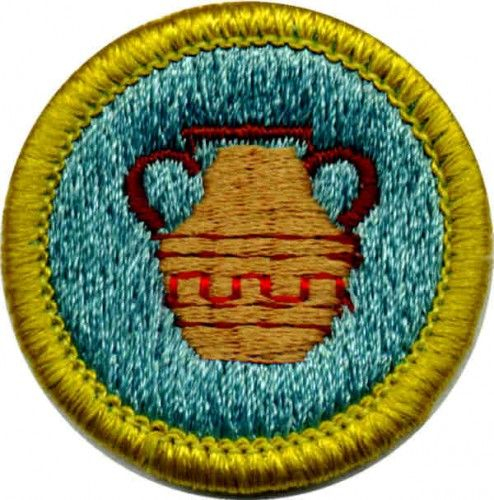 pottery merit badge for boy scouts shows requirements girl scouts pinterest merit badge. Black Bedroom Furniture Sets. Home Design Ideas