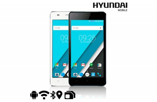 #smartphone 5 pulgadas #hyundai Kore un Gb 1 de RAM, #flash 8 GB, protector de pantalla, #batería , #cable protector jack, y mucho más. Visita nuestra #paginaweb