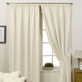 Natural/Cream Colored bedroom curtains Carpetright and Fresh Design Blog Bed Competition