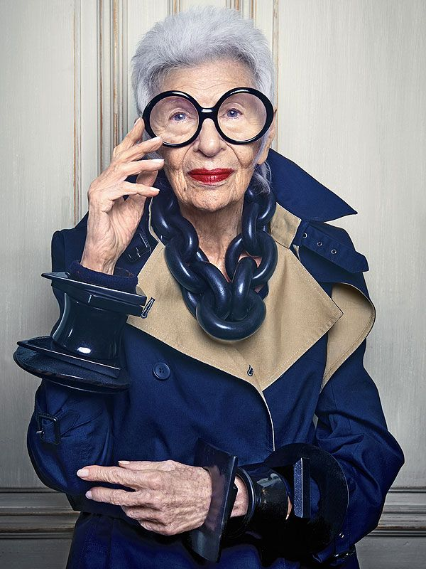 Iris Apfel Lands Another Ad Campaign at 'I'm Busy to the Point of Insanity'