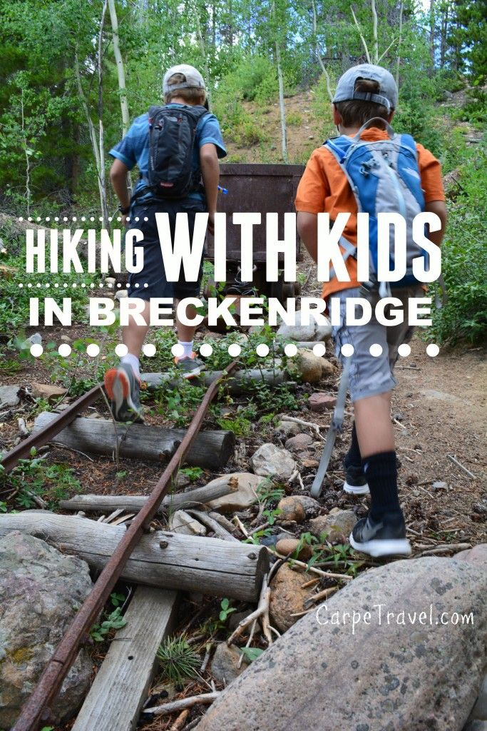 Family Friendly (aka EASY) Hiking in Breckenridge, Colorado. All you need to know when planning a Breckenridge family vacation   Breckenridge Colorado winter   Breckenridge Colorado summer   Breckenridge Colorado hiking   Breckenridge for kids   Colorado with kids - via @elainschoch