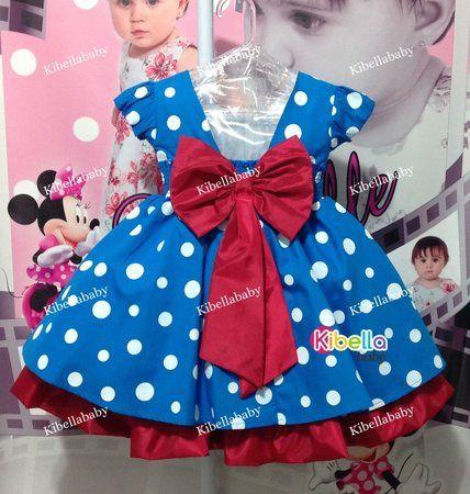 Vestido Infantil Galinha Pintadinha Faixa Vermelha Luxo - tam 1 ao 3
