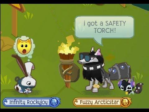 animal jam MV- safety torch!! - YouTube
