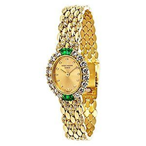 Amazon.com: Patek Philippe Dress 4754/4 Ladies Watch (Certified Pre-owned): Patek Philippe: Watches - Patek Philippe Geneve with Diamonds 4654/4 Ladies Watch in 18K Yellow Gold SKU: 035738 PRIMARY DETAILS Brand: Patek Philippe Model: 4754/4 Serial Number: *** Country of Origin: Switzerland Movement Type: Quartz: Battery Refurbished Notes: Battery, Refinish Year of Manufacture: 1990-1999 Condition: In excellent condition with no visible marks or scratches.(affiliate link)