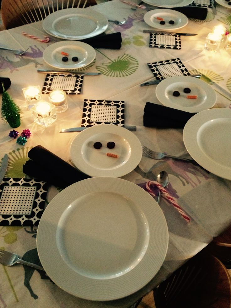 Christmas-Party table