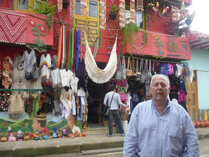 Artesanías de Ráquira. Departamento de Boyacá. Colombia.