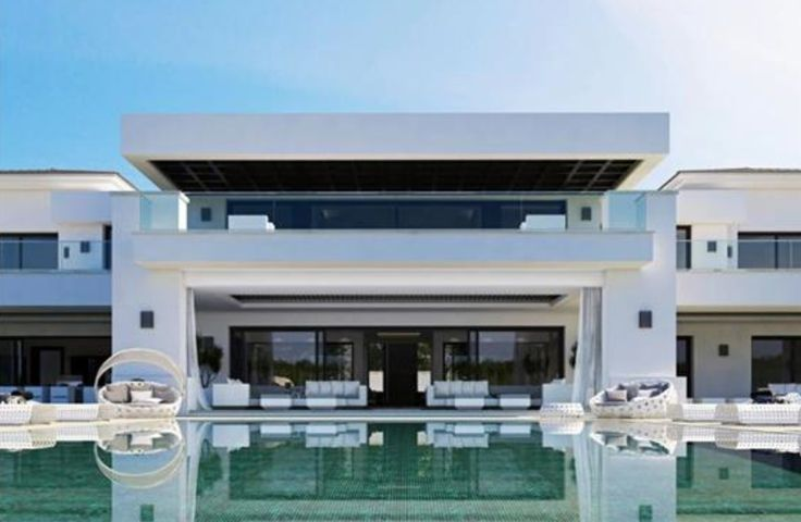 Impressive modern villa near Cádiz, Spain.
