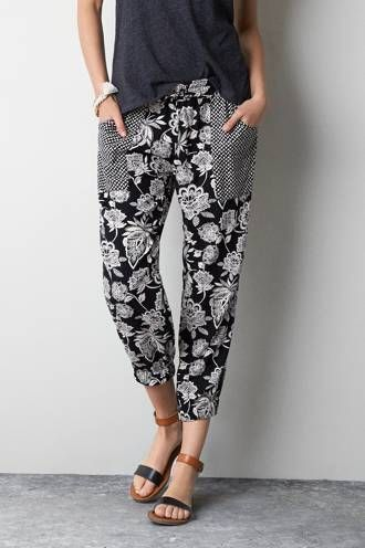 American Eagle soft pants for hanging out