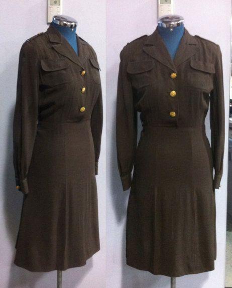 1940's US Army Nurse Corps Uniform | Nurses, Wwii and Us army - photo#50