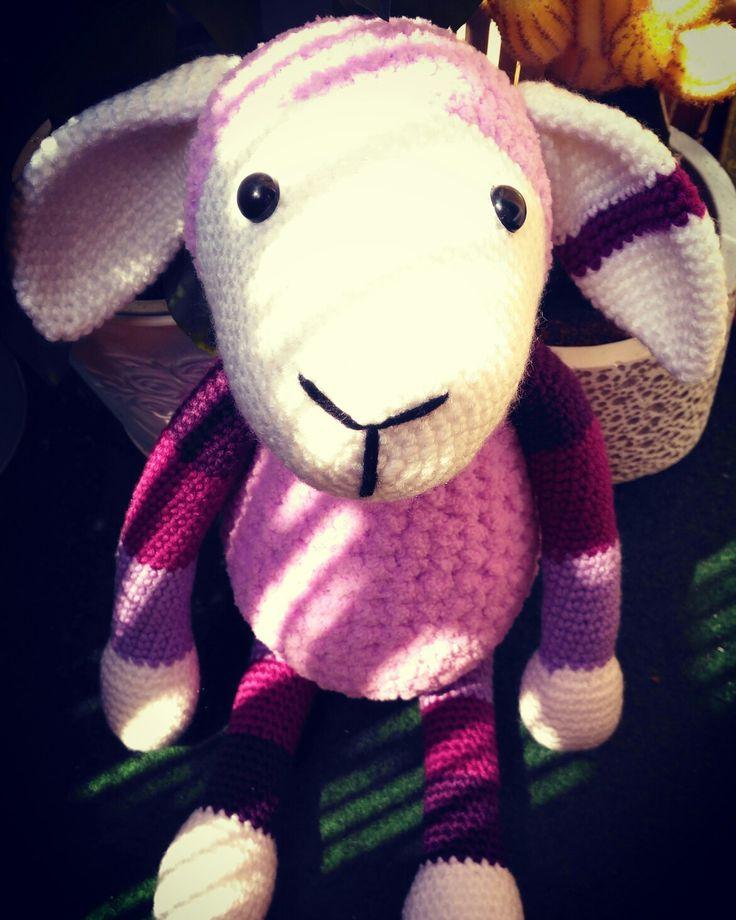 crochet sheep