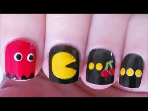 Pac Man Nail Tutorial