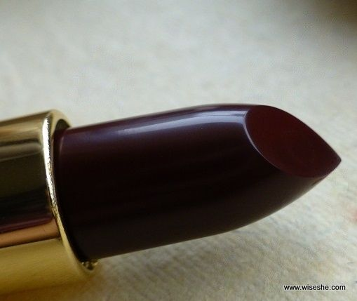 REVLON Super Lustrous Lipstick in Black Cherry - A deep cherry color that is affordable too