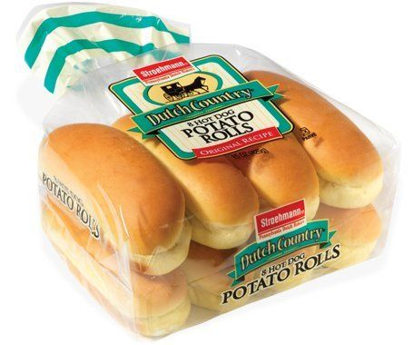 Dutch Country Stroehmann Hot Dog Potato Rolls