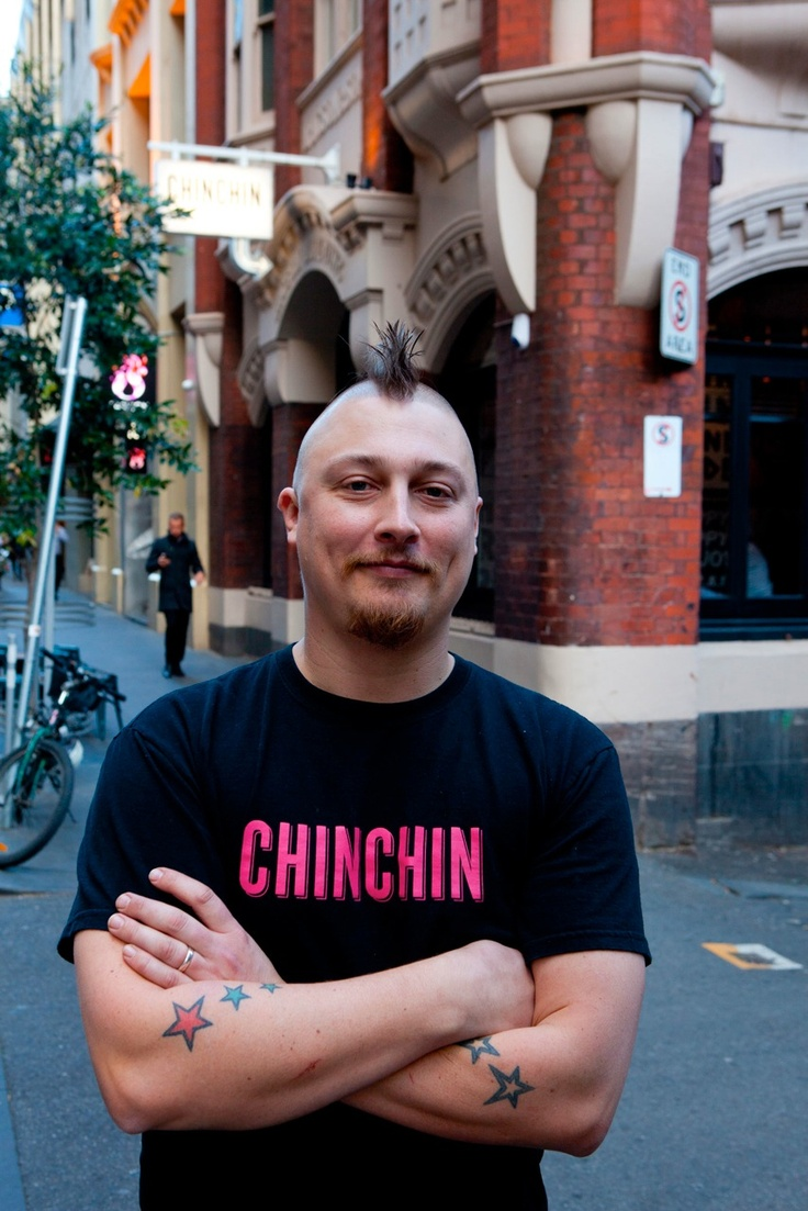 Benjamin Cooper, head chef at Chin Chin, for Melbourne Food and Wine Festival 2013