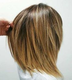 layered bob // whoa, i like how slicey this one looks. maybe too much, though, for me.