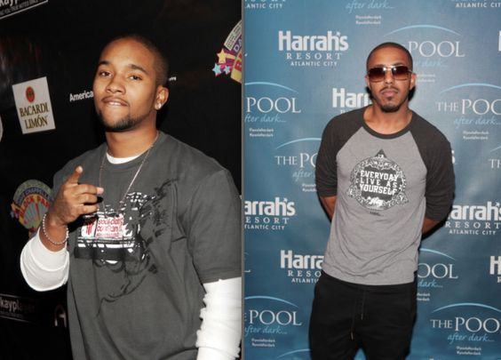 B2k's J-Boog & Marques Houston ~ All these years we thought Marques Houston and Omarion were cousins, but in real life, former B2k member J-Boog is Marques' cousin. J-Boog's government name is actually Jarell Damonte Houston.: