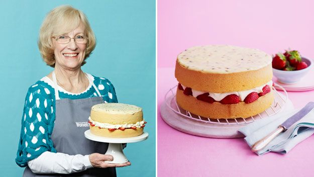The australian woman 39 s weekly sponge cake queen finalist for Best queen cake recipe