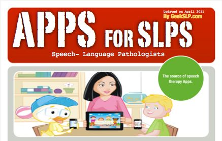 Apps for SLPs Divided into Articulation, fluency, language, cause and effect, and more. Pinned by SOS Inc. Resources. Follow all our boards at http://pinterest.com/sostherapy for therapy resources.
