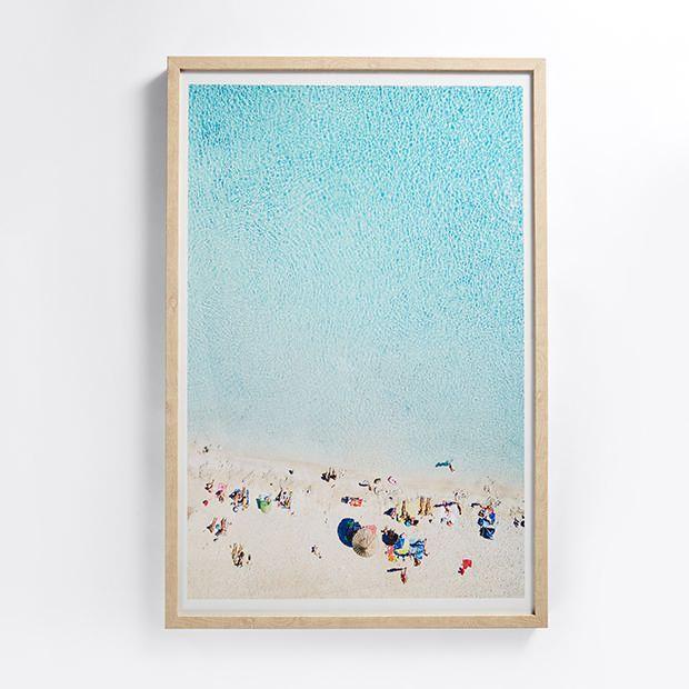 Beaches Framed Print 60cm x 90cm