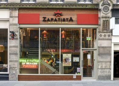 Zapatista Burrito Bar, 9 Grainger Street, NE1 5DQ