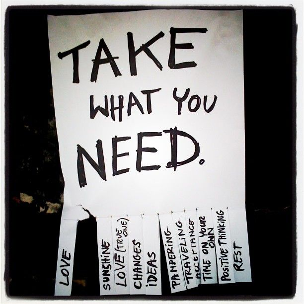what do u need? just take it! On Dublin's walls...