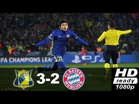 Bayern München vs Rostov 2 3 ● Highlights & All Goals ● Champions league...
