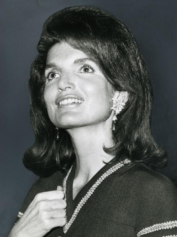 Jacqueline Kennedy on the night of Senator Robert F. Kennedy's assassination in June 1968.