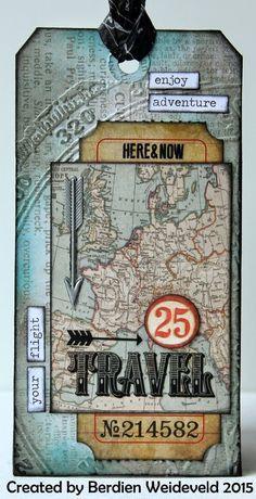 Scrap from Bemmel: Travel Tag