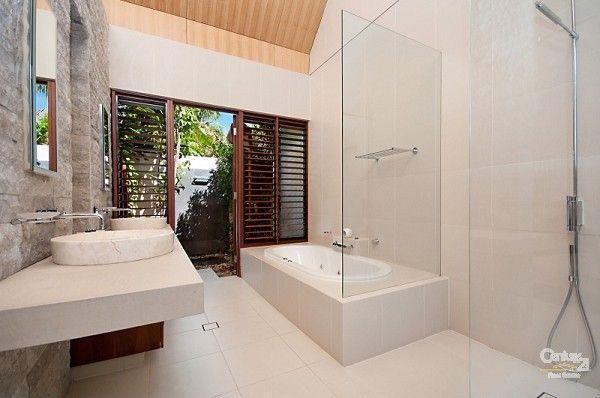 Modern Bathroom - Villa for Sale in Port Douglas QLD 4877 - NIRAMAYA (FORMERLY KNOWN AS BALE RESORT)