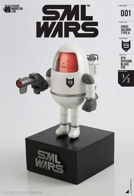 SML WARS (SS 001) from Sticky Monster Lab #soldout