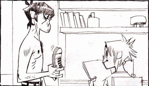 cartoons & comics 2d gorillaz murdoc murdoc niccals