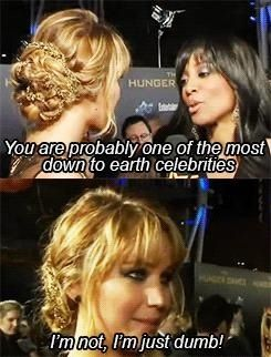 This is why we love her!!!