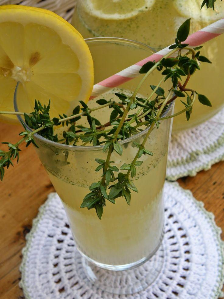 Tymiánovo-citrónová limonáda  s  medem
