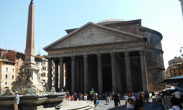 The marvelous Pantheon in Rome.
