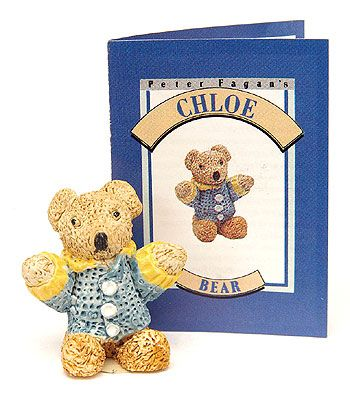Colourbox Miniatures by Peter Fagan ~ Chloe Bear