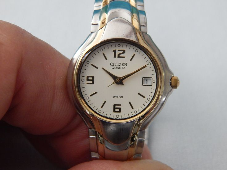 Vintage Citizen Ladies Watch Gold and Silver by AlwaysPlanBVintage on Etsy
