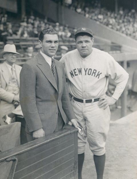 Why was babe ruth called babe-4829